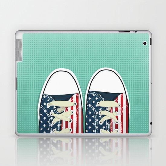 Casual American Laptop & iPad Skin