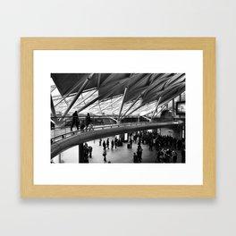 Kings Cross Framed Art Print