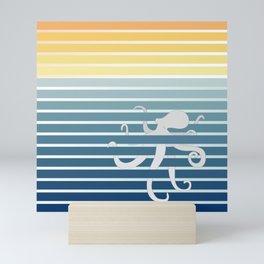 Octopus Gradient Mini Art Print