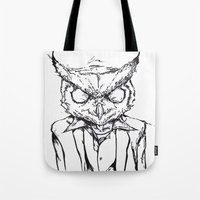 hotline miami Tote Bags featuring Hotline Miami by Leamartes