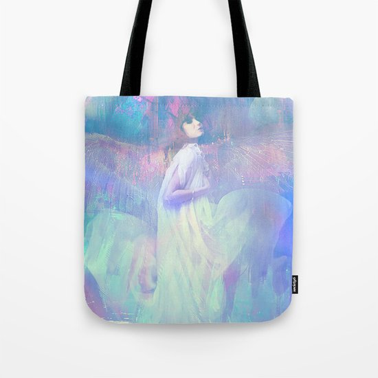 Ask your angel Tote Bag