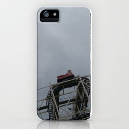 Riding The Clouds iPhone Case
