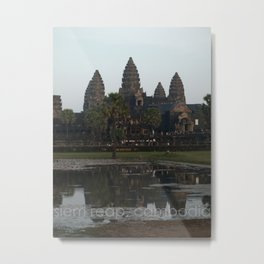 siem reap, cambodia Metal Print