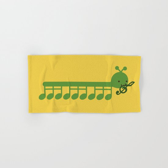 Caterpillar Song Hand & Bath Towel