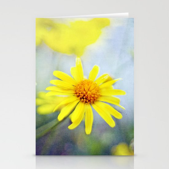 yellow day Stationery Cards