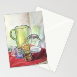 Still life with jug Stationery Cards