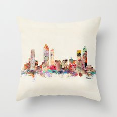Atlanta Georgia Throw Pillow