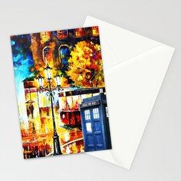 Tardis Art On The Street Stationery Cards
