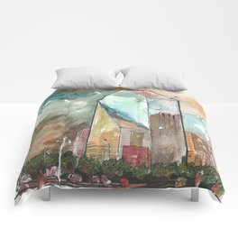 The Fountain Place Comforters