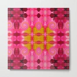 Rapsberry Swirl Metal Print