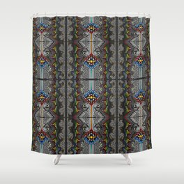 Dirty Dots H Shower Curtain