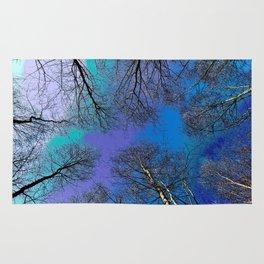 English forest tree Art Rug
