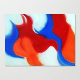 French Curves Canvas Print