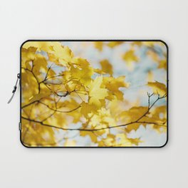 Gold in the Sky Laptop Sleeve