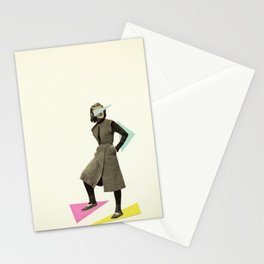 Shapely Figure Stationery Cards