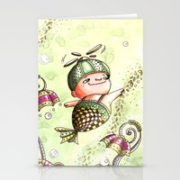 journey Stationery Cards featuring Journey by  • naylapulga