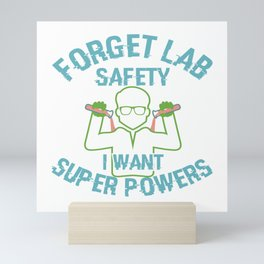 Funny Quote Chemistry Science Teacher Student Gift Mini Art Print