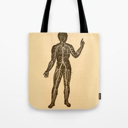 Circulatory system. Tote Bag
