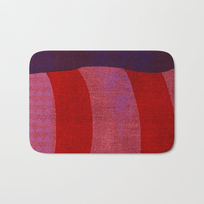 A Reasonable Assumption, Abstract Shapes Bath Mat