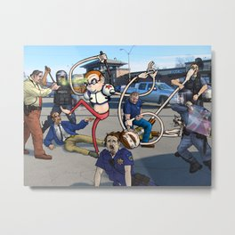 The Hammerhead Brothers, Pt 5 Metal Print