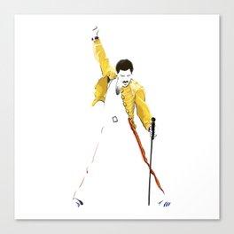 Queen at Wembley Stadium in 1986. Canvas Print