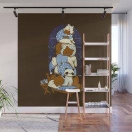 Good Night Bears Wall Mural