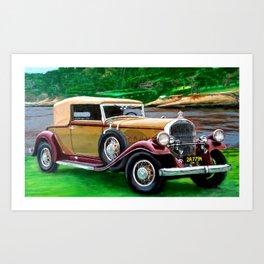 CAR # 2 Art Print