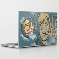 baloon Laptop & iPad Skins featuring Charlie baloon by Arry Design