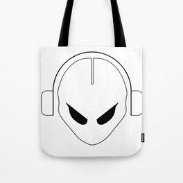 Dj alien Tote Bag