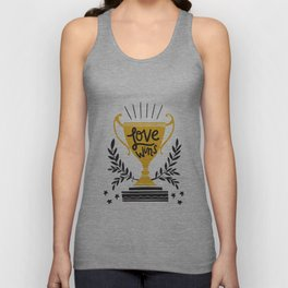 Love Wins Unisex Tank Top