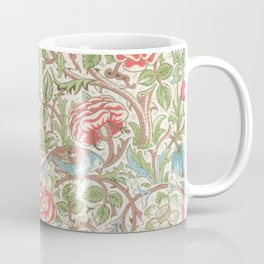 William Morris - Roses - Digital Remastered Edition Coffee Mug