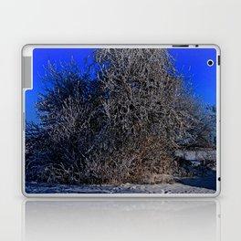snow and moon Laptop & iPad Skin