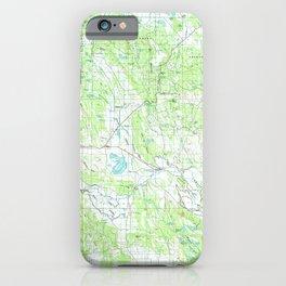 OR Klamath Falls 283090 1991 topographic map iPhone Case