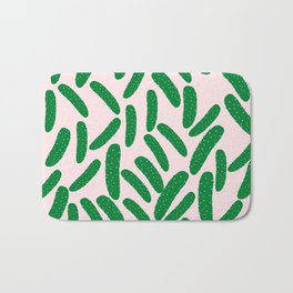 Cute Pickles Bath Mat