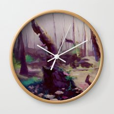 Rebirth | painted Bambi landscape Wall Clock