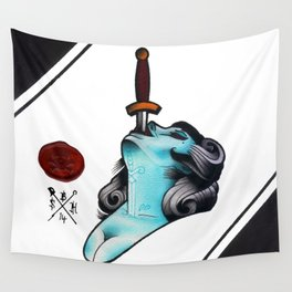 Sword Swallower Wall Tapestry
