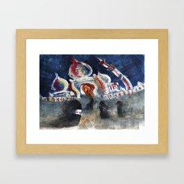 Salaam Framed Art Print