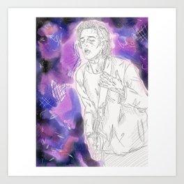 // G A L A X Y  B O Y // Art Print