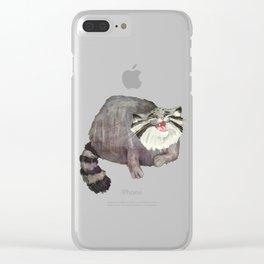 Manul Cat 2 Clear iPhone Case