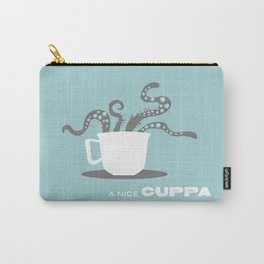 A Nice Cuppa, Tentacles and Winter Things Carry-All Pouch