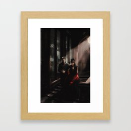 Outlaw Queen - Masquerade Framed Art Print