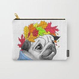 Autumn pug #2 Carry-All Pouch