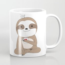 Sleepy Sloth Coffee Mug