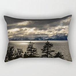 Lake Tahoe Winter Rectangular Pillow