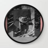 stone Wall Clocks featuring Stone by Thrashin