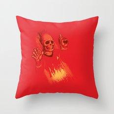 He's Dead Jim Throw Pillow