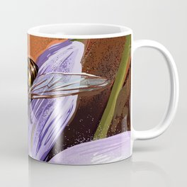 Fly on flower 10 Coffee Mug