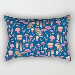 Psychedelic fungi - BBG Rectangular Pillow