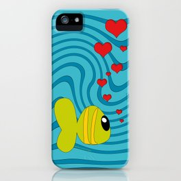 small fish iPhone Case