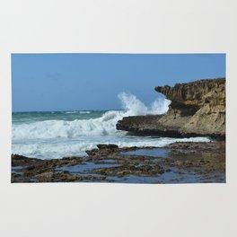 Waves Crash on Somalia Rug